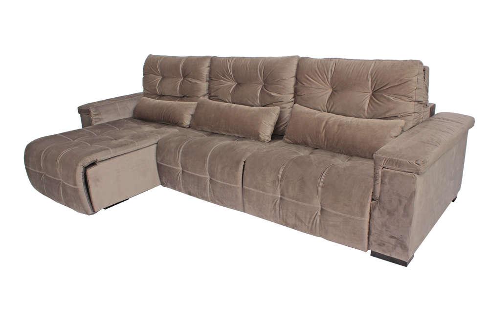 Sof plus 3 chaise lugares retr til e reclin vel incantu 39 s for Sofa 03 lugares com chaise